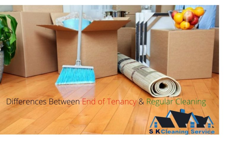 Differences between End of Tenancy & Regular Cleaning